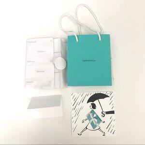 Tiffany & Co. Turquoise Blue Gift Bag